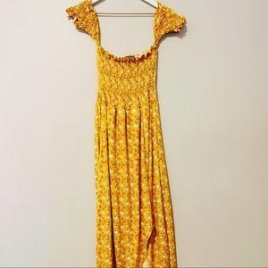Floral Yellow Maxi Dress x Target